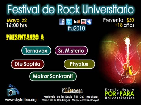 Festival De Rock Universitario En El Dobermann - rock en espa�ol - rockeros.net