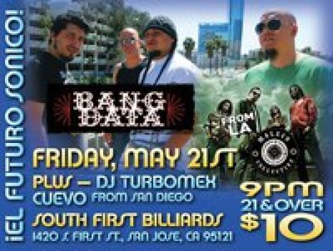 Bang Data Y Maleco Collective En San Jose Ca - rock en espa�ol - rockeros.net