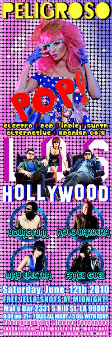 Peligroso Pop Presenta Los Hollywood En El Mals Bar - rock en espa�ol - rockeros.net