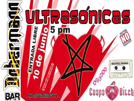 Las Ultrasonicas En El Dobermann Bar - rock en espa�ol - rockeros.net