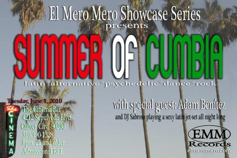 El Mero Mero Records Showcase Con Summer Of Cumbia - rock en espa�ol - rockeros.net