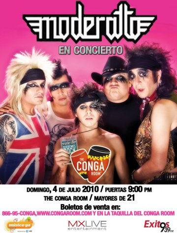 Moderatto En El Conga Room De Los Angeles - rock en espa�ol - rockeros.net