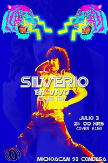 Silverio En El Club 101 Mexico Df - rock en espa�ol - rockeros.net