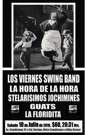 Los Vierenes Swing Band En El Foro Alicia Mexico Df - rock en espa�ol - rockeros.net