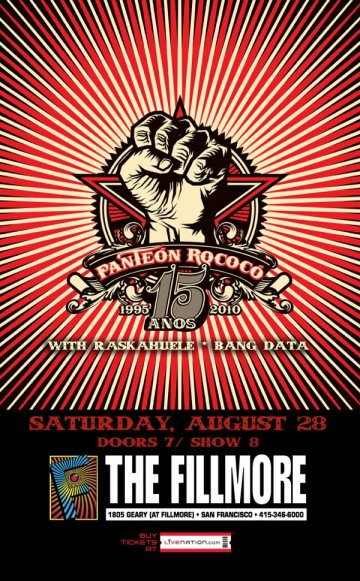 Panteon Rococo En The Fillmore De San Francisco - rock en espa�ol - rockeros.net