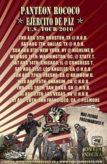Panteon Rococo En El House Of Blues De Houston Tx - rock en espa�ol - rockeros.net