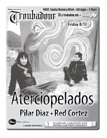 Aterciopelados En The Troubadour - rock en espa�ol - rockeros.net