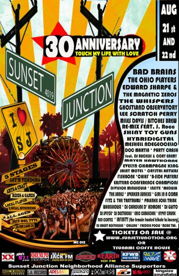 Sunsent Junction 30 Aniverasary Hoover Stage Los Angeles Ca - rock en espa�ol - rockeros.net