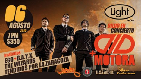 Dildo Dld Motora Ego B.a.y.x The Wizard Y Mas En El Light Club Zona Rosa Df - rock en espa�ol - rockeros.net