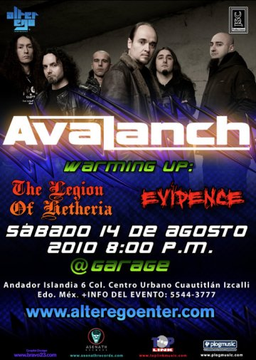 Avalanch En El Garage De Cuatitlan Izcalli Edo De Mex - rock en espa�ol - rockeros.net