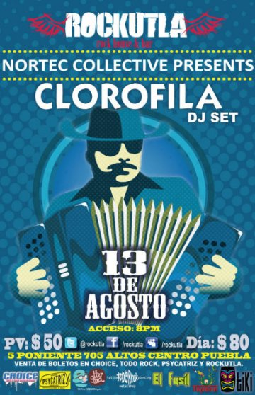 Nortec Collective Presents Clorofila En Rockutla Puebla - rock en espa�ol - rockeros.net