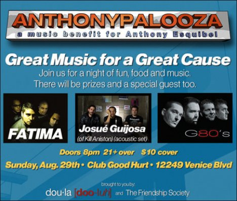 Anthonypalooza Con Fatima Josue Guijosa G80s Good Hurt De Los Angeles - rock en espa�ol - rockeros.net