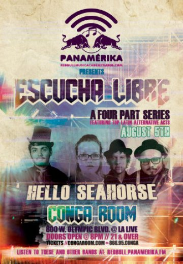 Hello Seahorse En El Conga Room De Los Angeles - rock en espa�ol - rockeros.net