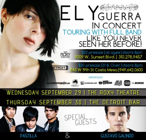 Ely Guerra En El Roxy Theatre De Los Angeles California - rock en espa�ol - rockeros.net