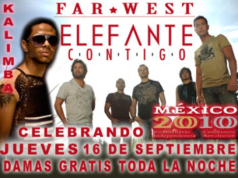Elefante Y Kalimba En El Far West De Dallas Texas - rock en espa�ol - rockeros.net