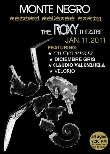 Monte Negro Cosmic Twins Cd Release Party En The Roxy De Hollywood California - rock en espa�ol - rockeros.net