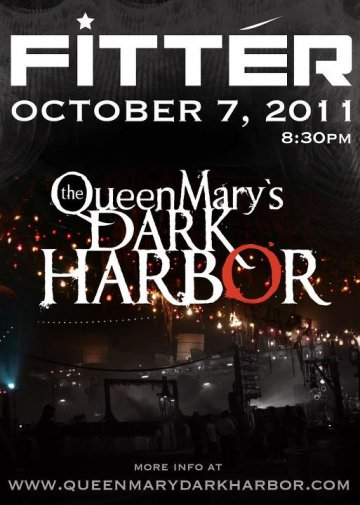 Fitter En El Queen Mary Dark Harbor Long Beach Ca - rock en espa�ol - rockeros.net
