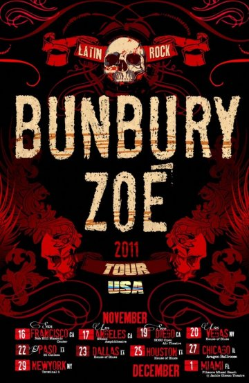 Enrique Bunbury Y Zoe En El House Of Blues De Las Vegas Nevada - rock en espa�ol - rockeros.net