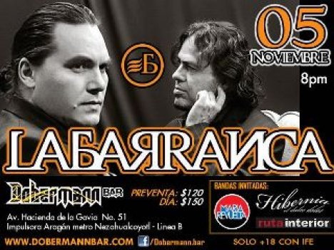 La Barranca En El Dobermann Bar De La Aragon Estado De Mexico - rock en espa�ol - rockeros.net