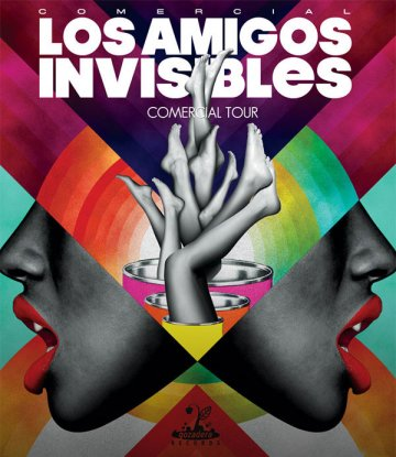Los Amigos Invisibles Y Trombone Shorty En The Catalyst Santa Cruz California - rock en espa�ol - rockeros.net