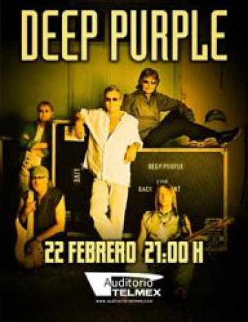 Deep Purple En El Auditorio Telmex Guadalajara Jalisco Mexico - rock en espa�ol - rockeros.net