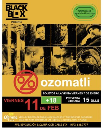Ozomatli En The Black Box De Tijuana Baja California - rock en espa�ol - rockeros.net