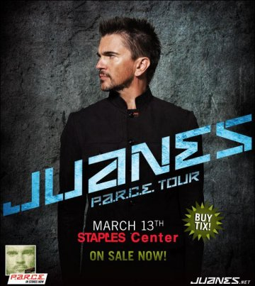 Att Presenta Juanes En El Staples Center De Los Angeles California - rock en espa�ol - rockeros.net