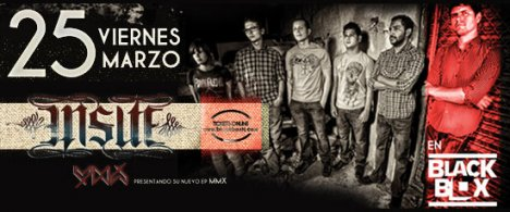 Insite En El Black Box De Tijunana Baja California - rock en espa�ol - rockeros.net