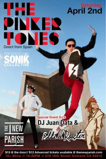 The Pinker Tones Dj Juan Data Dj Eddie Le Roster En The New Parish Oakland Ca - rock en espa�ol - rockeros.net