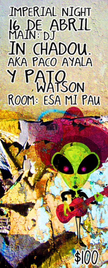 Pato Watson Y Dj In Chadou En El Imperial Club Mexico Df - rock en espa�ol - rockeros.net