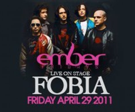 Fobia En El Ember Cafe And Music Club De Anaheim Californi - rock en espa�ol - rockeros.net