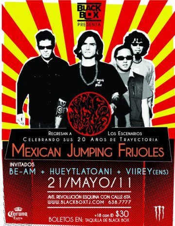 Mexican Jumping Frijoles En El Black Box De Tijuana Baja California - rock en espa�ol - rockeros.net