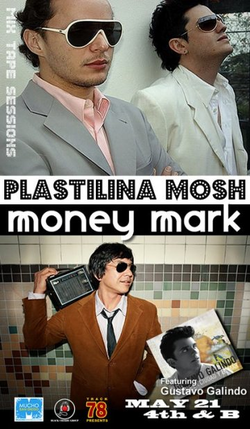 Mix Tape Sessions Con Plastilina Mosh Money Mark 4th And B San Diego Ca - rock en espa�ol - rockeros.net