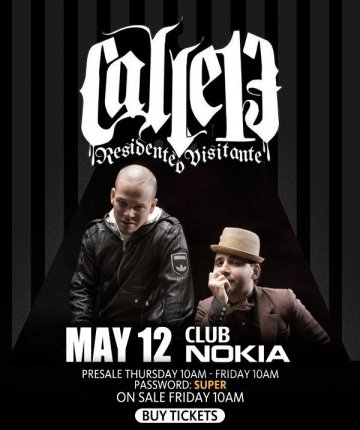Calle 13 En El Club Nokia De Los Angeles California - rock en espa�ol - rockeros.net