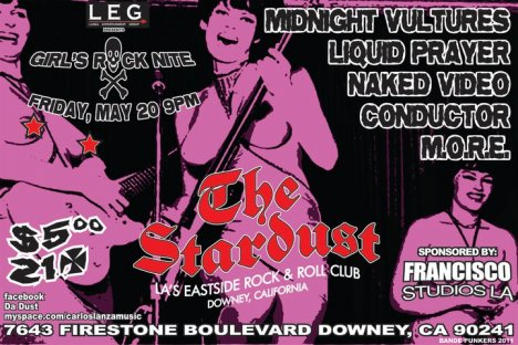Midnight Vultures Liquid Prayer Naked Video En El Stardust De Downey Ca - rock en espa�ol - rockeros.net