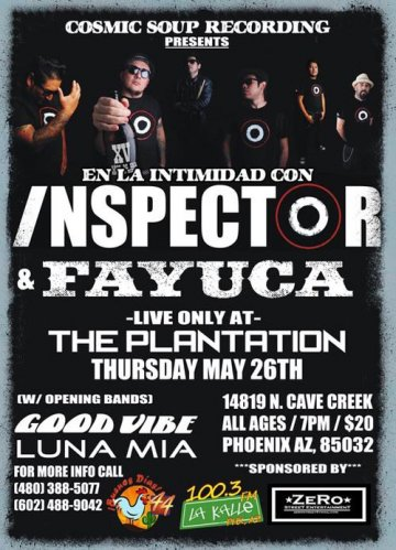 Inspector Y Fayuca En The Plantation Phoenix Arizona - rock en espa�ol - rockeros.net