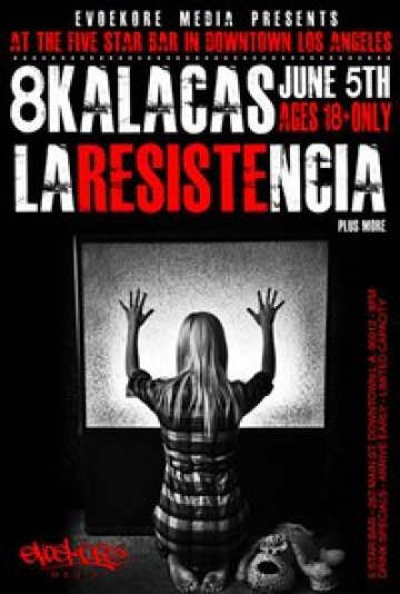 8 Kalacas Y La Resistencia En El 5 Star Bar De Los Angeles California - rock en espa�ol - rockeros.net