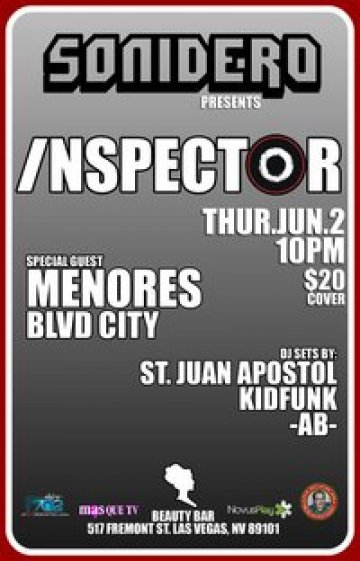 Inspector Menores Blvd City Beuty Bar Las Vegas Nevada - rock en espa�ol - rockeros.net