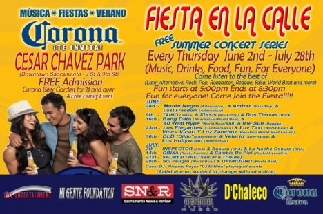 Fiesta En La Calle 2011 Bang Data 40 Watt Hype Irie Sun Sacramento Ca - rock en espaol - rockeros.net