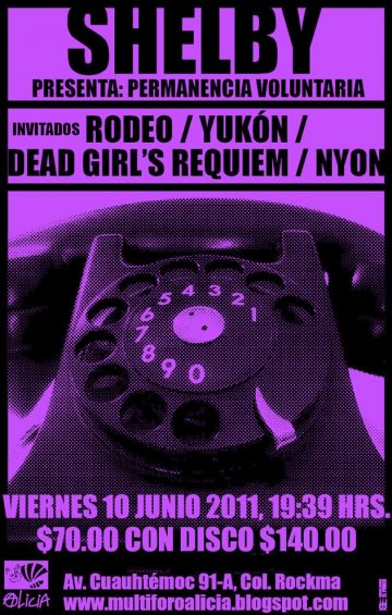 Shelby Rodeo Yukon Dead Girls Requiem Nyon En El Foro Alicia Mexico Df - rock en espa�ol - rockeros.net