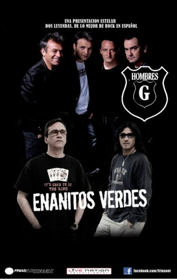 Hombres G Y Enanitos Verdes En The State Theatre Falls Chuch Virginia - rock en espa�ol - rockeros.net