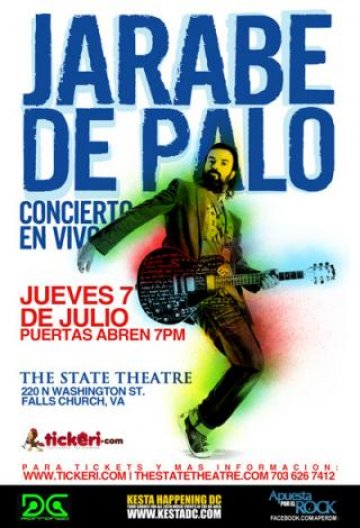 Jarabe De Palo En The State Theatre Fall Church Virginia - rock en espa�ol - rockeros.net