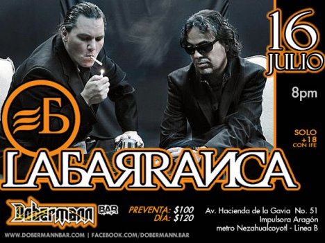 La Barranca En El Dobermann Bar Aragon Mexico Df - rock en espa�ol - rockeros.net