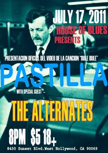 Pastilla The Alternates Closer To Venus Fe Red House Of Blues Sunset Strip Ca - rock en espa�ol - rockeros.net
