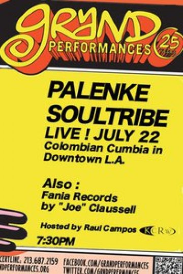 Palenke Soultribe En El California Plaza Grand Performances Los Angeles Ca - rock en espa�ol - rockeros.net