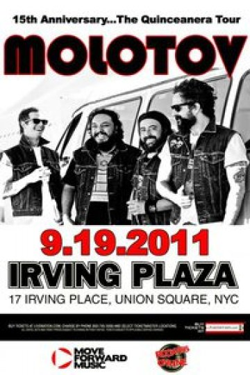 Molotov En El Irving Plaza Union Square New York City Ny - rock en espa�ol - rockeros.net