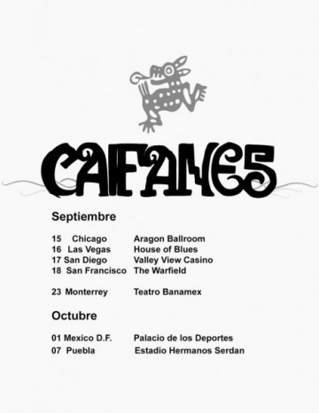 Caifanes Gira 2011 En El House Of Blues De Las Vegas Nevada - rock en espa�ol - rockeros.net
