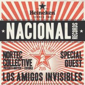 Nacional Records Road Trip Con Los Amigos Invisibles Nortec Collective Music Box - rock en español - rockeros.net