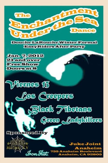 The Enchanment Under The Sea Dance Viernes 13 Los Creepers Juke Joint Anaheim Ca - rock en espa�ol - rockeros.net