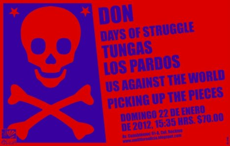 Don Days Of Struggle Tungas Los Pardos Us Against The World El El Foro Alicia - rock en español - rockeros.net